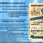 41° marcia – 05/07 (Do) Altopascio (LU) – Campo Sportivo di Altopascio 33° MARCIA DELLA SMARRITA