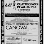 52° marcia – 04/10 (Do) Castelfranco di Sotto (PI) – Orto di S. Matteo 44° QUATTRO PASSI IN VAL D'ARNO