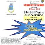 11° marcia – 08/03 (Do) Cascina (PI) – Corso Matteotti