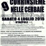 40° marcia – Sabato 04/07 Staffoli (PI) – Campo Sportivo le Cerbaie 9° CORRI INSIEME NELLE CERBAIE