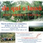 """51° marcia – 27/09 (Do) Uliveto Terme (PI) – Impianti Sportivi """"G. Taccola"""" 33° DA QUI A LASSU'"""